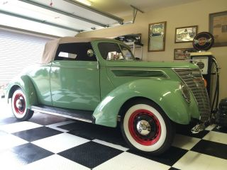1937 Ford Cabriolet W / Rumble Seat photo