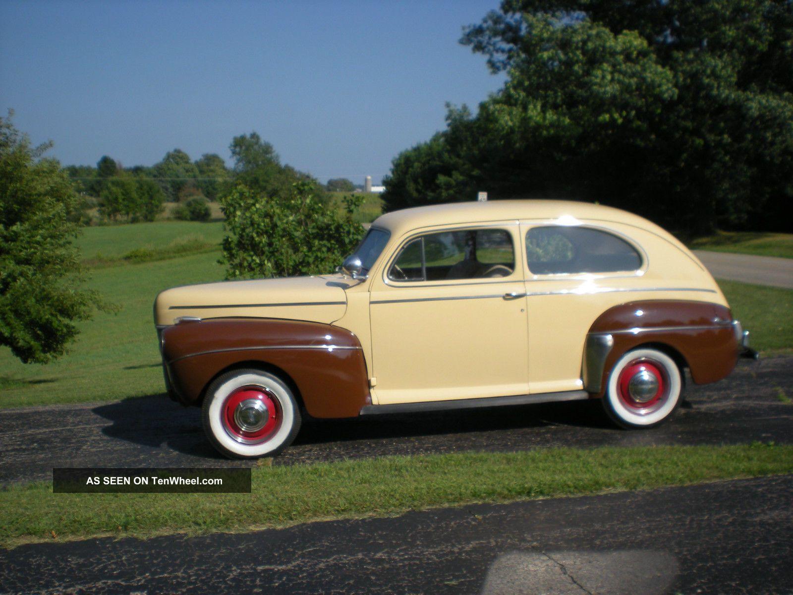 1941 Ford Sedan Hot Rod Truck Deluxe 2 Door