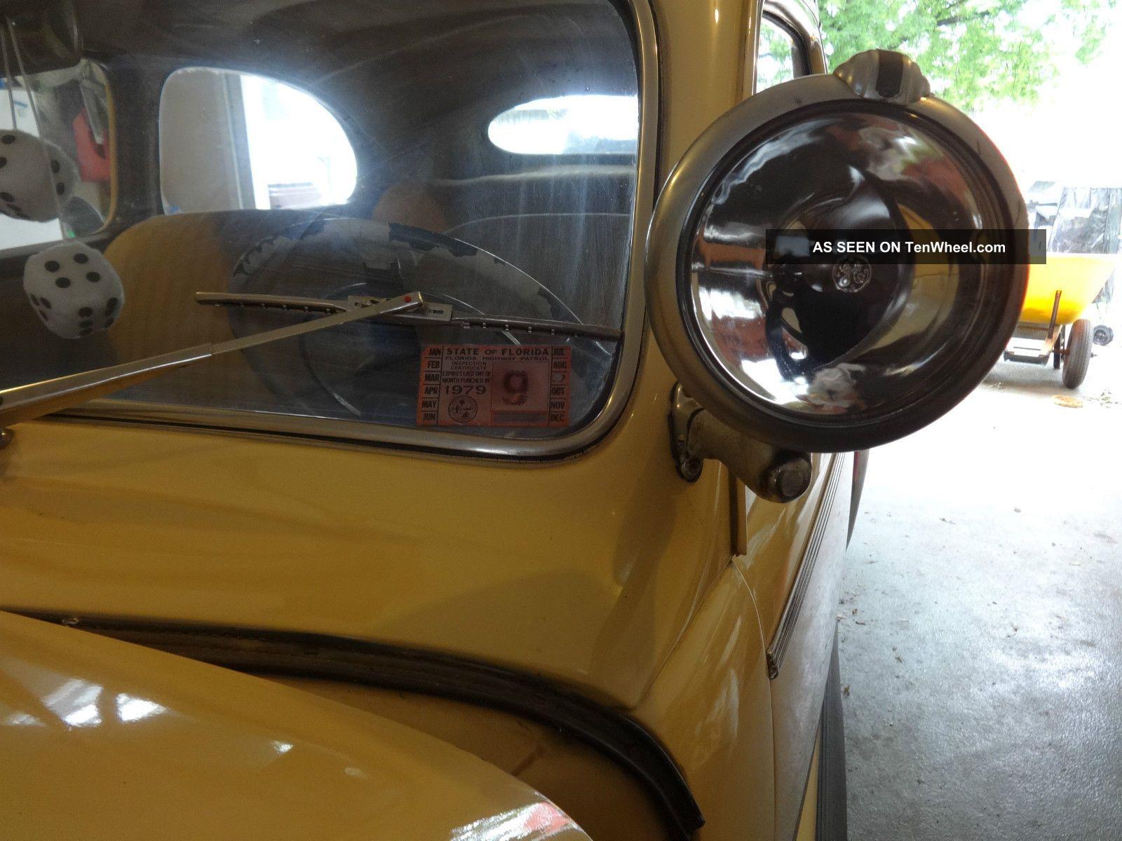 1941 Ford Deluxe 2 Door Sedan Flathead V8 Flatty Hot Rod Cruiser Mercury Engine Potentiol Other Photo 19