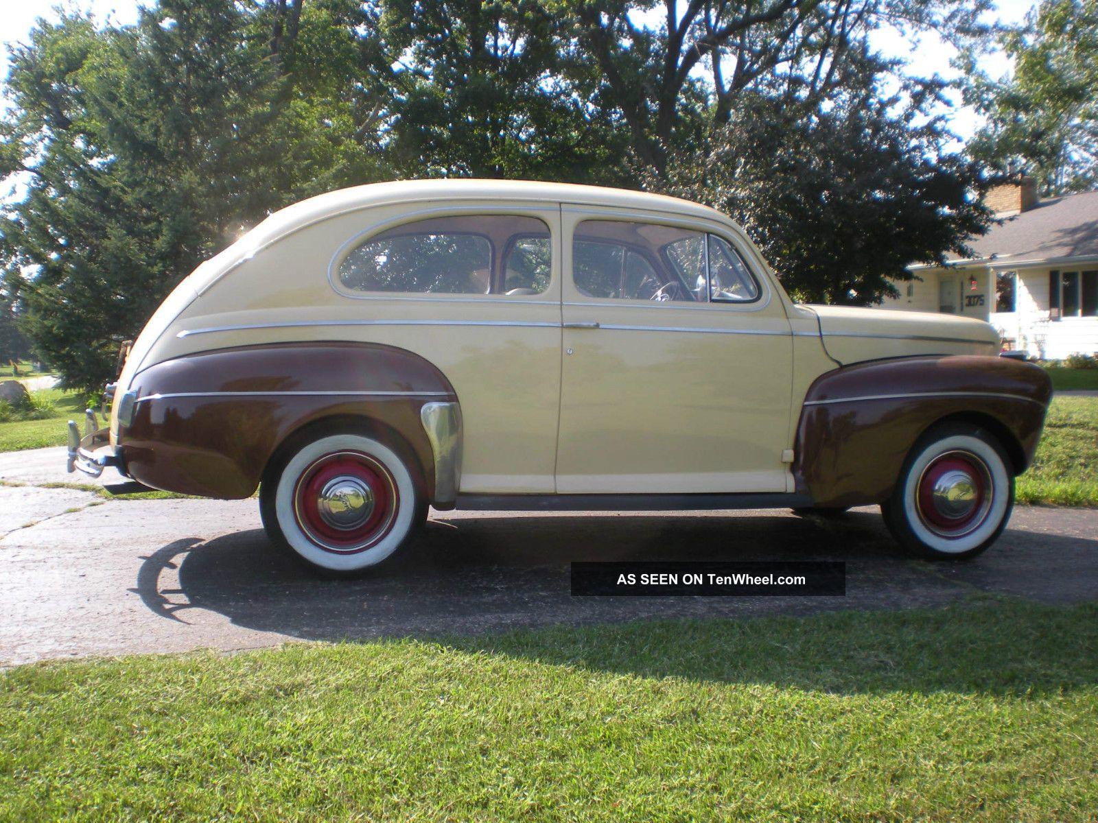 1941 Ford Deluxe 2 Door Sedan Flathead V8 Flatty Hot Rod Cruiser Plymouth 4 Potentiol