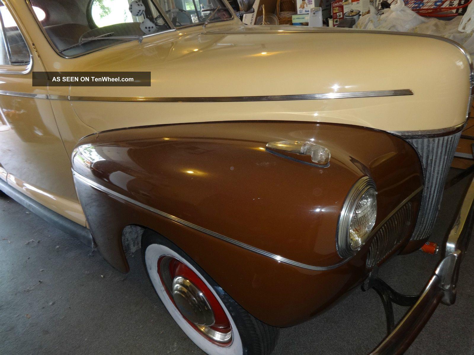 1941 Ford Deluxe 2 Door Sedan Flathead V8 Flatty Hot Rod Cruiser Mercury Engine Potentiol