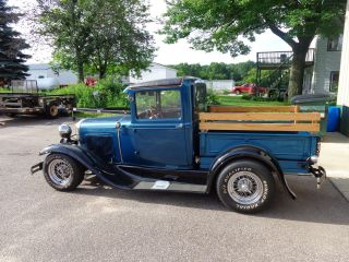 1930 Ford Model A Closed Cab Pickup Truck photo