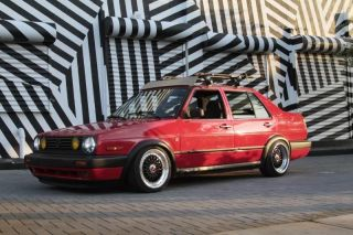 1991 Mk2 Vw Jetta Gli 16v 2.  0 Stanced photo