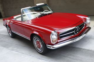1969 Mercedes Benz Pagoda 280sl 280 Sl Convertible Coupe Immaculate photo
