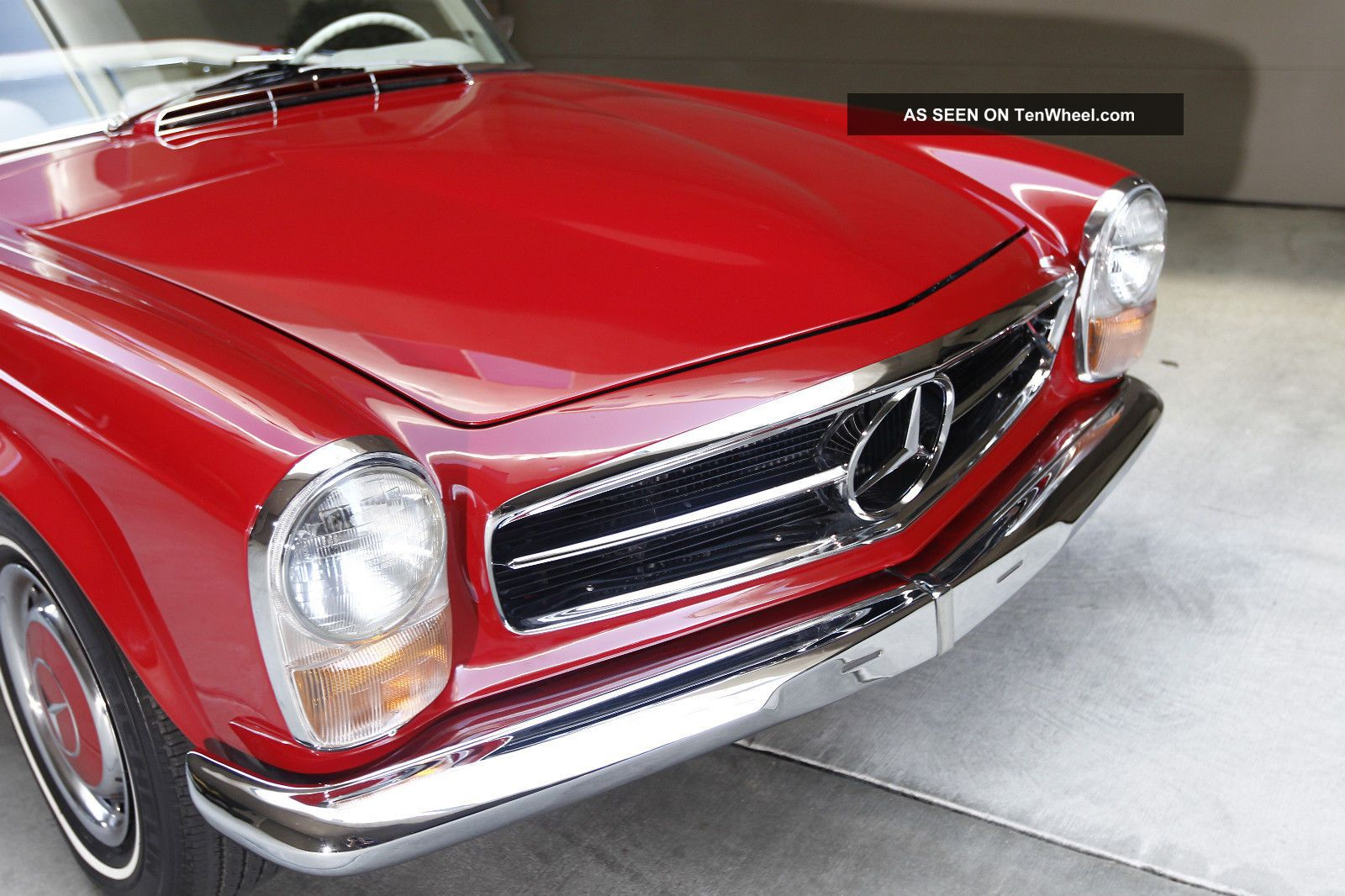 1969 mercedes benz pagoda 280sl 280 sl convertible coupe for Mercedes benz pagoda
