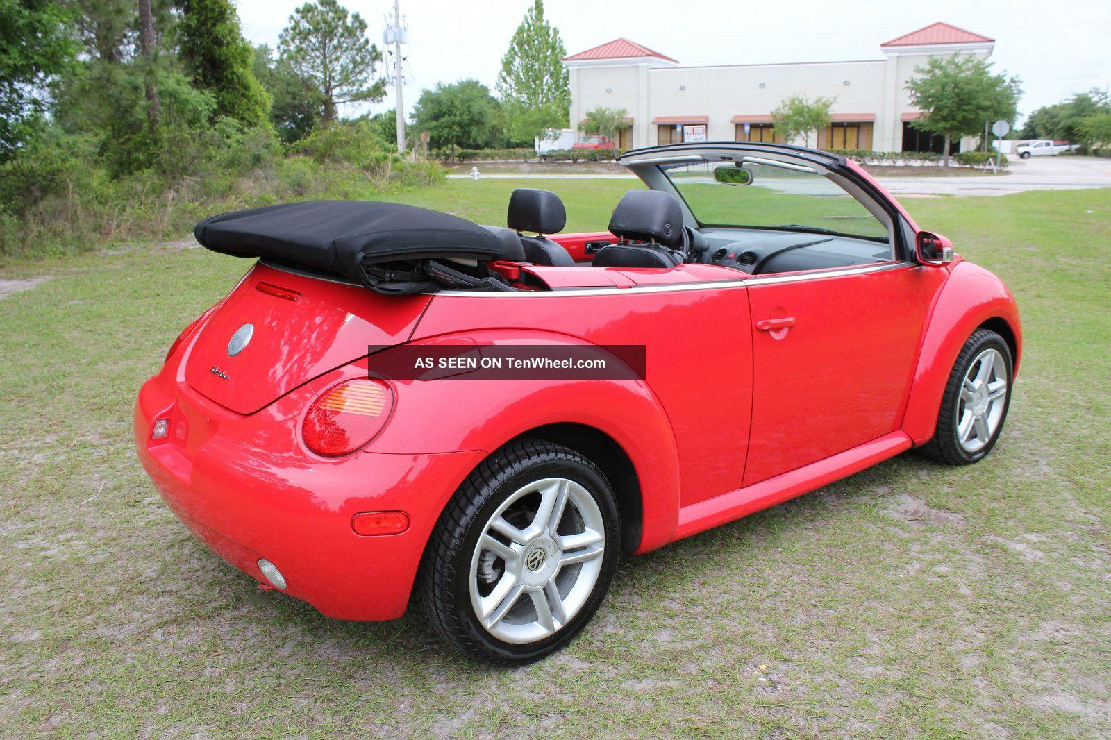 2004 Volkswagen Gls Turbo Beetle Convertible Now