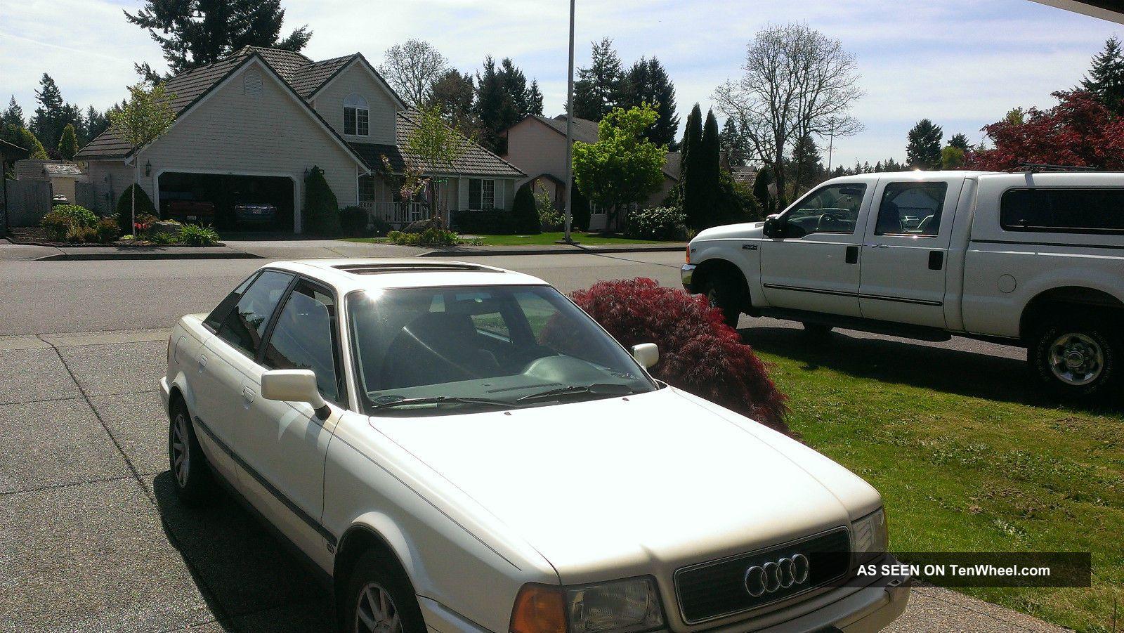 1995 Audi 90 Sport Sedan 4 - Door 2.  8l 90 photo