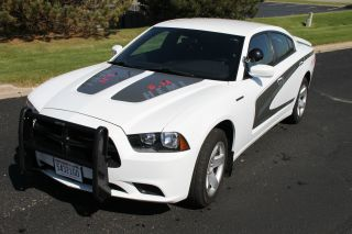 2011 Dodge Charger Police Pursuit Interceptor Hemi 5.  7 Liter photo
