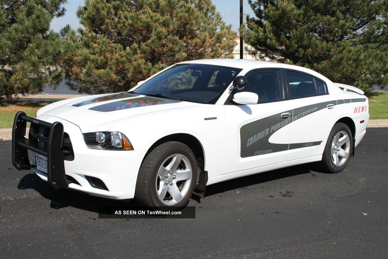 2011 Dodge Charger Police Pursuit Interceptor Hemi 5 7 Liter