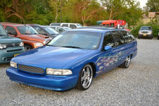 Custom 1994 Buick Estate Wagon Show Quality 2013 Impala Fest Winner photo