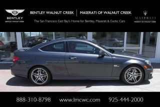 2012 Mercedes - Benz C63 Amg Base Coupe 2 - Door 6.  3l photo