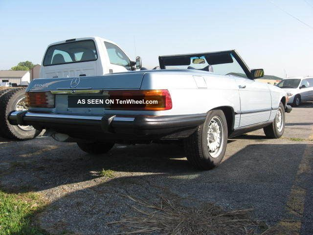 1978 Mercedes Benz 450 Sl Convertible SL-Class photo