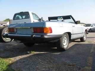 1978 Mercedes Benz 450 Sl Convertible photo
