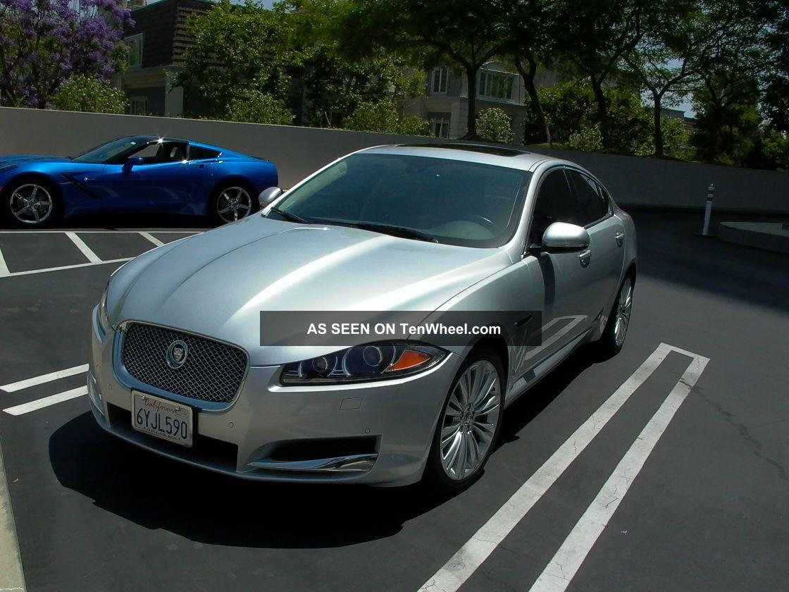 jaguar xf portfolio sedan  door