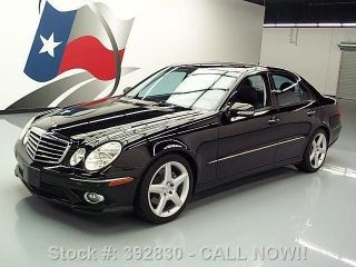 2009 Mercedes - Benz E350 Sport Paddle Shift 54k Texas Direct Auto photo