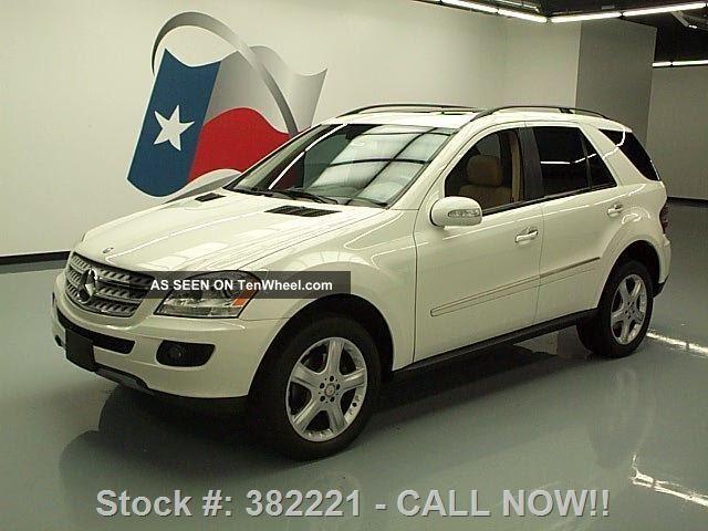 2008 mercedes benz ml350 4matic awd 66k mi texas direct auto for Mercedes benz 2008 ml350