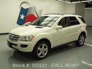 2008 Mercedes - Benz Ml350 4matic Awd 66k Mi Texas Direct Auto photo