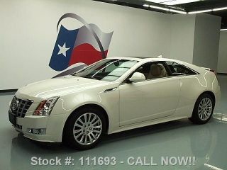 2012 Cadillac Cts 3.  6 Performance Coupe 4k Texas Direct Auto photo