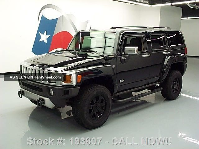 2008 Hummer H3 4x4 Automatic Side Steps 73k Mi Texas Direct Auto H3 photo