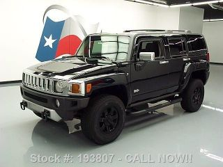 2008 Hummer H3 4x4 Automatic Side Steps 73k Mi Texas Direct Auto photo
