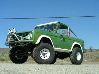 1974 Ford Bronco Ranger: Running Gear,  Ready To Go photo