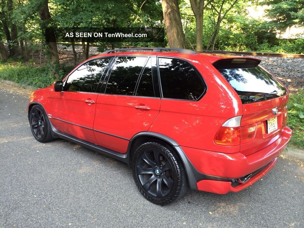 2004 bmw x5 4 8is imola red cargo sliding tray pano navi truck. Black Bedroom Furniture Sets. Home Design Ideas