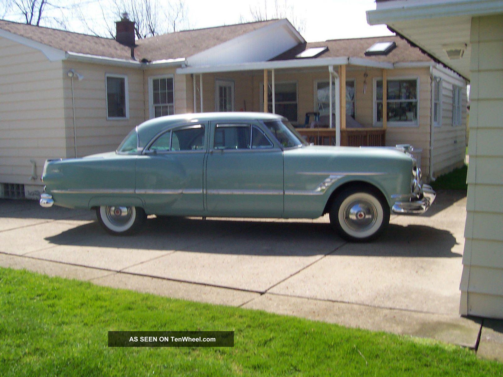 1953 packard cavalier 4 door sedan for 1953 ford 4 door sedan