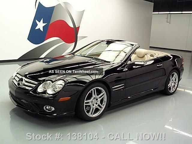 2008 Mercedes - Benz Sl550 Roadster Hard Top Texas Direct Auto SL-Class photo