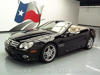 2008 Mercedes - Benz Sl550 Roadster Hard Top Texas Direct Auto photo