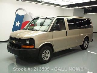 2008 Chevy Express 5.  3l V8 Cruise Control Only 71k Mi Texas Direct Auto photo