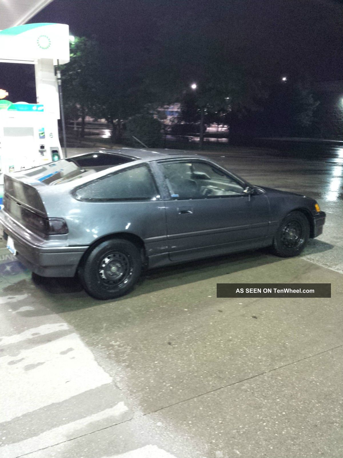 1989 Honda Crx Si Coupe 2 Door 1 6l