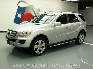 2011 Mercedes - Benz Ml350 4matic Awd 34k Mi Texas Direct Auto photo