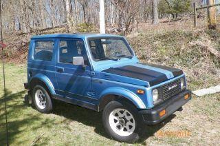 1987 Suzuki Samurai Jx Hardtop photo