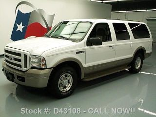 2005 Ford Excursion Eddie Bauer 8 - Pass 70k Mi Texas Direct Auto photo
