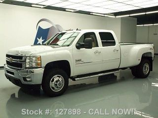 2014 Chevy Silverado 3500 Crew 4x4 Diesel Dually 4k Mi Texas Direct Auto photo