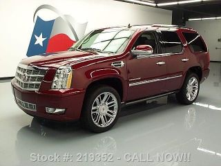 2011 Cadillac Escalade Platinum Dvd 26k Mi Texas Direct Auto photo