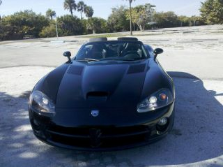2005 Dodge Viper Srt - 10 Convertible 2 - Door 8.  3l Triple Black photo
