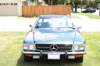 1972 Mercedes - Benz 450 Sl Convertible In photo