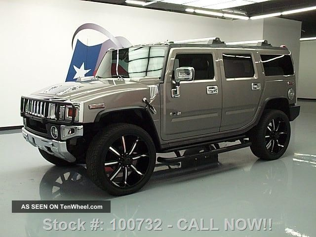 2009 Hummer H2 Adventure 4x4 Dvd 26 ' S Texas Direct Auto H2 photo