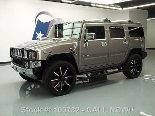 2009 Hummer H2 Adventure 4x4 Dvd 26 ' S Texas Direct Auto photo