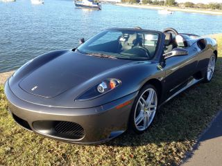 2007 Ferrari F430 Spider Convertible Fully Loaded Daytona Seat photo