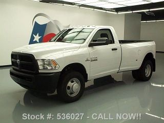 2013 Dodge Ram 3500 Tradesman Reg Cab 4x4 Diesel Tow 6k Texas Direct Auto photo