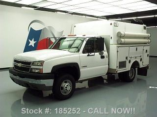 2005 Chevy Silverado 3500 Reg Cab 8.  1l Service / Utility Texas Direct Auto photo