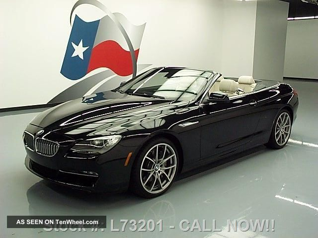 2012 Bmw 650i Cabriolet Climate Seats 11k Texas Direct Auto 6-Series photo