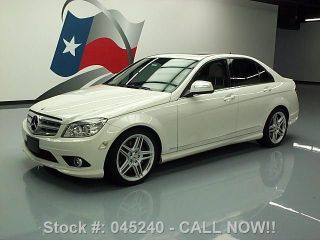 2009 Mercedes - Benz C350 Sport 79k Mi Texas Direct Auto photo