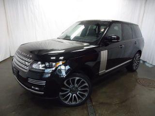 2014 Range Rover Full Size Autobiography Black Black Suv photo