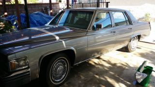 1979 Cadillac Deville Base Sedan 4 - Door 7.  0l photo