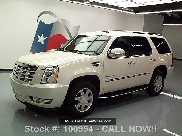 2010 Cadillac Escalade Awd 7pass Xenon 82k Texas Direct Auto Escalade photo