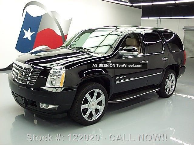 2012 Cadillac Escalade Lux Awd Dvd 22 ' S 26k Texas Direct Auto Escalade photo