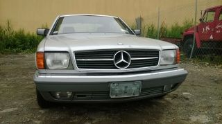 1983 Mercedes - Benz 380sec 2dr Coupe 8 - Cyl.  3839cc / 155hp Fi photo
